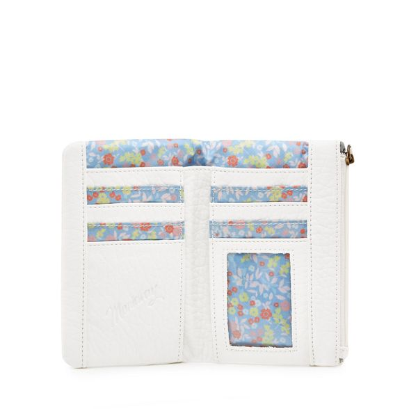 Mantaray Mantaray floral White purse White floral tab rTaw8qr1