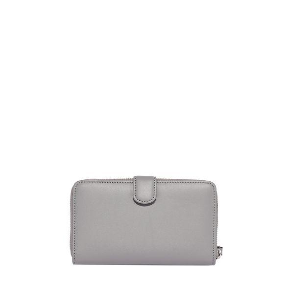 around zip Fiorelli Grey purse abbey tqnYFP