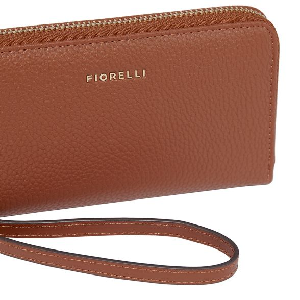 finley purse zip Tan Fiorelli around Z6P5Snq