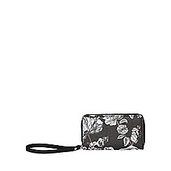 Fiorelli - Black finley medium zip around purse