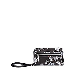 Fiorelli - Black abbey zip around purse