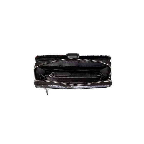 Fiorelli zip abbey Black purse around rWqHfrcT