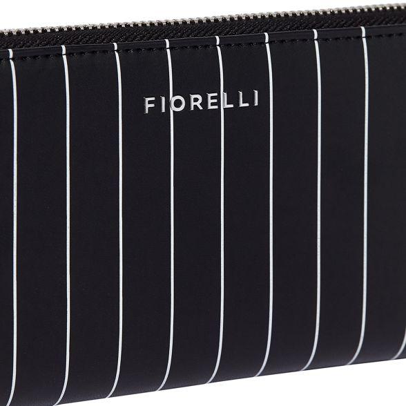 around Black zip purse city Fiorelli TvSqwt
