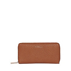 Fiorelli - Tan city zip around purse