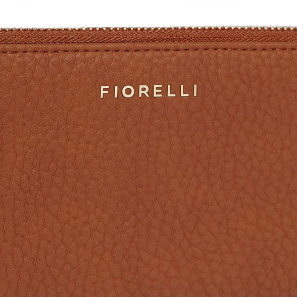 purse city Tan zip Fiorelli around z8wIp75x