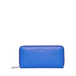Fiorelli - Blue city zip around purse