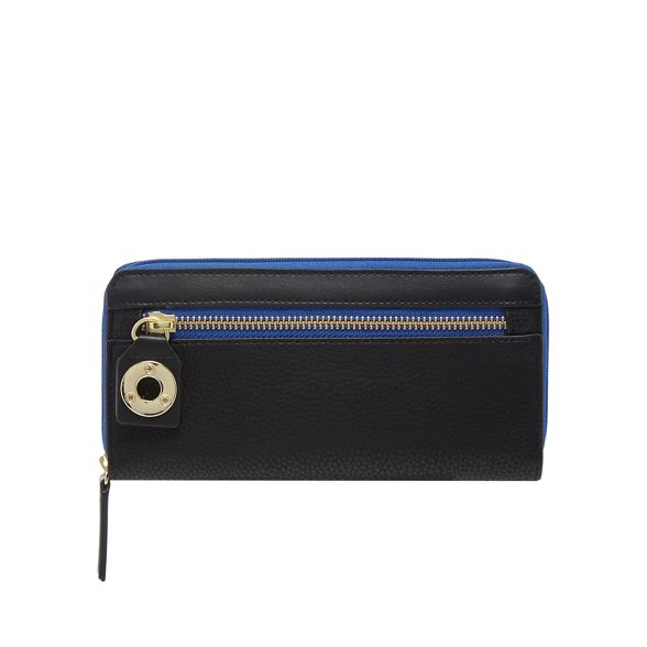 Star around Julien Macdonald by large purse Black zip CCrzYq