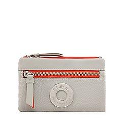 Star by Julien Macdonald - Grey soft fold over purse