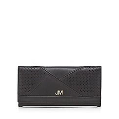 Star by Julien Macdonald - Black perforated large purse