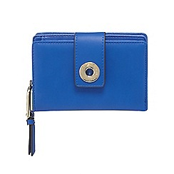 Star by Julien Macdonald - Bright blue eyelet tab purse