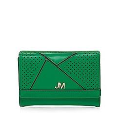 Star by Julien Macdonald - Green perforated medium purse