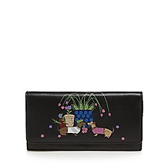 The Collection - Black leather large purse