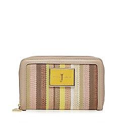 J by Jasper Conran - Natural striped medium purse