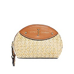 J by Jasper Conran - Tan weave coin purse