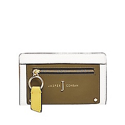 J by Jasper Conran - Multi-coloured zip front medium purse