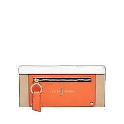 J by Jasper Conran - Multi-coloured zip front large purse