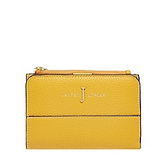 J by Jasper Conran - Yellow fold over purse