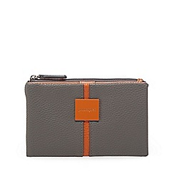Principles - Dark grey colour block purse