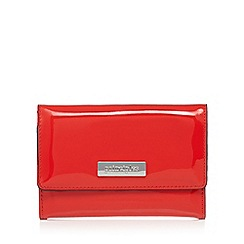 Principles - Red patent medium purse