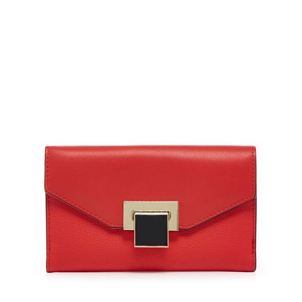 Principles enamel lock purse medium Red wXYq41R