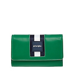 Principles - Green sports striped purse