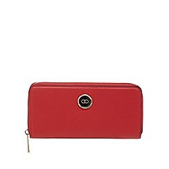The Collection - Red zip around purse