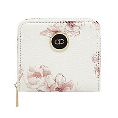 The Collection - White floral print small purse