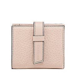 The Collection - Pink grained small purse