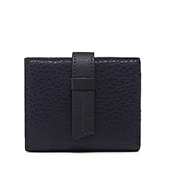 The Collection - Navy grained small purse