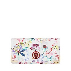 The Collection - Multi-coloured floral print purse