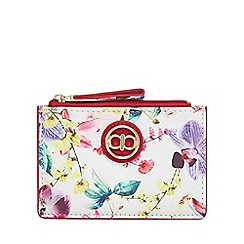The Collection - Multi-coloured floral print coin purse