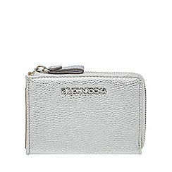 RJR.John Rocha - Silver small zip around purse