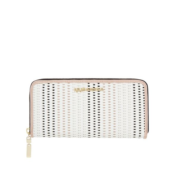 weave zip around purse Rocha large John RJR White 8q6Twztw