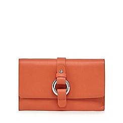RJR.John Rocha - Orange metal ring large purse