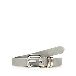 The Collection - Grey skinny belt