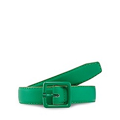 Red Herring - Green skinny belt