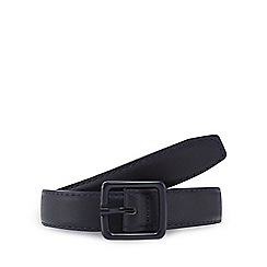 Red Herring - Navy skinny belt