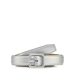 Red Herring - Silver skinny belt