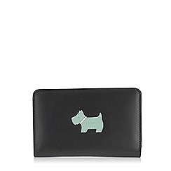 Radley - Black medium leather 'heritage dog' purse