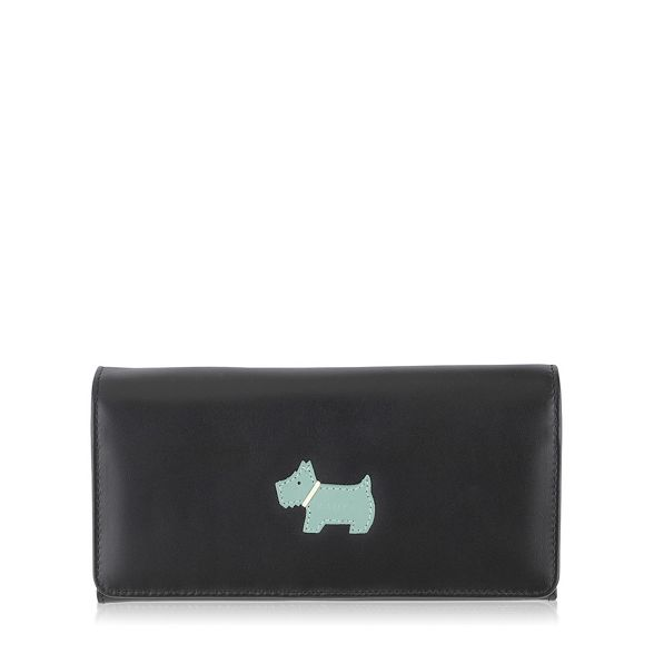 over flap 'heritage large purse Black Radley dog' leather wq1nYRT7xg