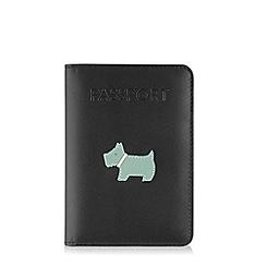 Radley - Leather 'heritage dog' passport cover