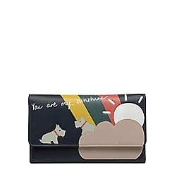 Radley - Medium leather 'Heritage Dog' outline purse