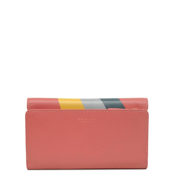outline medium Radley Coral leather 'heritage purse dog' rXOZqOxw
