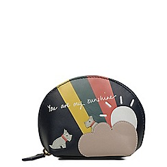 Radley - Small leather 'You Are My Sunshine' coin purse