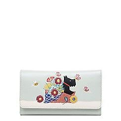 Radley - Large leather 'Basket Bouquet' matinee flapover purse