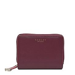 Radley - Red arlington street medium zip around matinee purse
