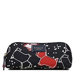 Radley - Black speckle dog pencil case
