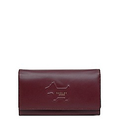 Radley - Large leather 'Radley Shadow' flap over matinee purse