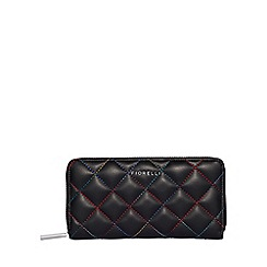 Fiorelli - Black city zip around purse