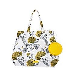 Fiorelli - Yellow 'Emma' foldable shopper bag